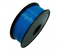 HobbyKing 3D Printer Filament 1.75mm PLA 1KG Spool (Fluorescent Blue)