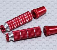 Alloy Anti-Slip TX Control Sticks Long (JR TX  Red)