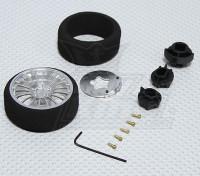 Alloy Pistol Transmitter Steering Wheel (18 spoke)