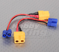 XT60 to EC2 Losi Charging adapter (2pcs/bag)