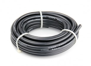 Turnigy High Quality 10AWG Silicone Wire 5m (Black)