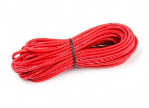 Turnigy High Quality 16AWG Silicone Wire 8m (Red)
