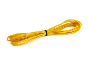 Turnigy High Quality 26AWG Silicone Wire 5m (Yellow)