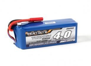 Turnigy Heavy Duty 4000mAh 6S 60C Lipoly Battery Pack