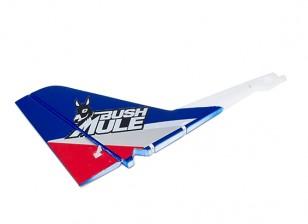 Avios BushMule - Vertical Tail w/Stickers (Red/Blue)