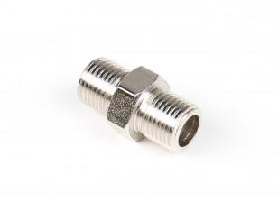 A2 (silver) 1/8'' BSP male-1/8'' BSP male