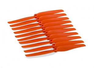 7x3.5 Orange Propeller (CCW) (10pcs)