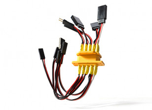 H-King SkySword 70mm and 90mm EDF Jet - Wing Plugs & Wires