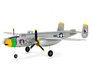 """H-King Micro B-25J Mitchell """"Lady Lil"""" Gunship 550mm (21.6"""") PNF"""