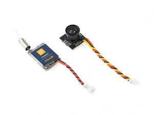 FX806TC Detachable Super Mini FPV Camera 25mW VTX Combo