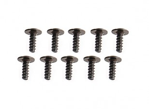 WL Toys K989 1:28 Scale Rally Car - Replacement M2x6mm Screws with Skirt K989-23 (10pc)