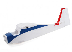 Durafly Tundra - Blue/Red - Fuselage Set - Upgraded Wing Connector
