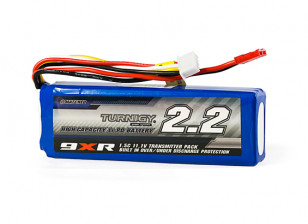 Turnigy 9XR Safety Protected 2200mAh 3S 1.5C Transmitter Pack