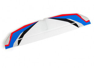H-King Bixler 3 Glider 1550mm - Replacement Horizontal Stabilizer (Blue/Red)
