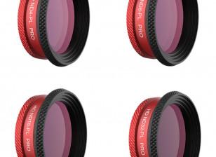 PGYTECH PRO ND - PL Filter Set for DJI MAVIC AIR (ND4-PL, ND8-PL, ND16-PL, ND32-PL)