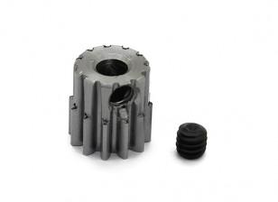 Robinson Racing Steel Pinion Gear 48 Pitch Metric (.6 Module) 12T