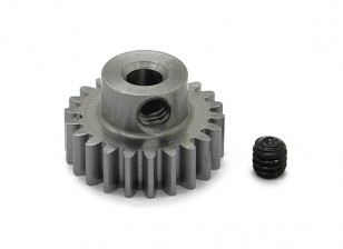 Robinson Racing Steel Pinion Gear 48 Pitch Metric (.6 Module) 22T