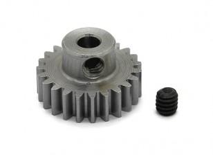 Robinson Racing Steel Pinion Gear 48 Pitch Metric (.6 Module) 23T