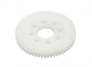 """Robinson Racing """"PRO"""" Machined Spur Gear 48 Pitch 66T"""