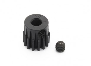 Robinson Racing Black Anodized Aluminum Pinion Gear 48 Pitch 14T