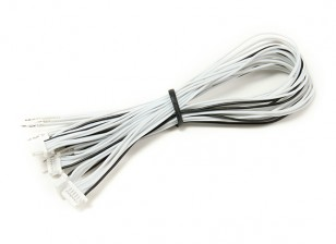 JST-SH 6Pin Female Plug with 200mm Wire Pigtail (5pcs)