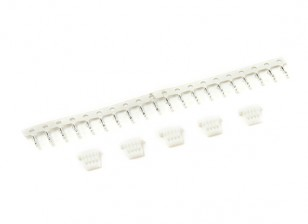 JST-SH 4Pin Female (Plug and Crimp) (5pcs)
