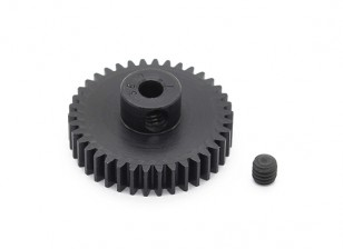 Robinson Racing Black Anodized Aluminum Pinion Gear 48 Pitch 38T