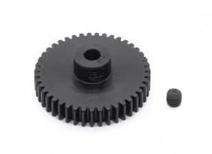 Robinson Racing Black Anodized Aluminum Pinion Gear 48 Pitch 43T