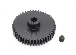 Robinson Racing Black Anodized Aluminum Pinion Gear 48 Pitch 47T