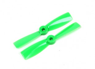GemFan 4045 Bullnose Polycarbonate Propellers (CW/CCW) Green (1 pair)