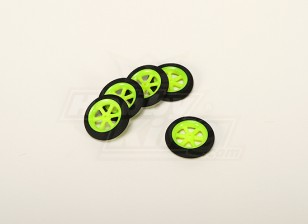 Super Light Multi Spoke Wheel D36x8mm (5pcs/bag)