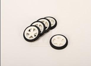Light Foam Wheel (Diam: 55, Width: 10mm) (5pcs/bag)