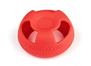 KingKong Mushroom Antenna Protective Jacket (FATSHARK version) (Red)