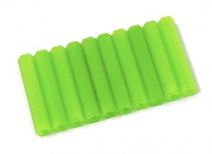 Nylon Spacer 35mm M3 F/F Green (10pcs)