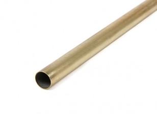 K&S Precision Metals Brass Round Stock Tube 13mm OD x 0.45mm x 1000mm (Qty 1)