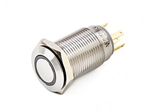 Stainless Steel 316 16mm Illuminated Off/On Switch