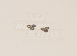 GT450PRO Main Rotor Thrust Bearing Set (3x8x3.5mm)