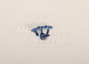 Canopy Thumb Screw Blue for all 30-90 canopy (4pcs)