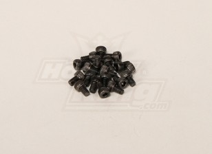 Screw Socket Head Hex M4x6mm (20pcs)