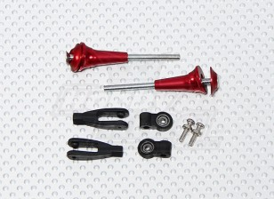 Heavy Duty Control Horn with Bearing M3 x 50 (2sets/bag)