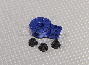 Blue Aluminum Heavy Duty Servo Saver