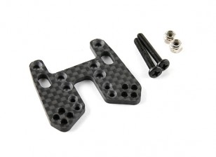 Front Shock Tower (carbon fiber w/hardware - A2003T and A2010