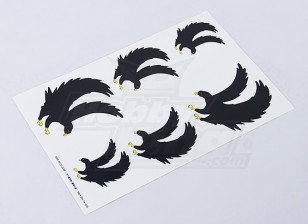 Black Eagle Decal Sheet