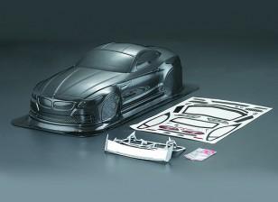 1/10 Z4 Carbon Fiber Style Car Body Shell (190mm)
