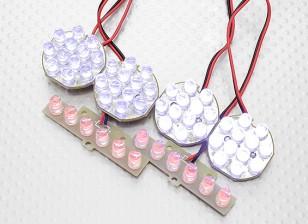 Hobbyking 1/5 and 1/8 Off-Road LED Light Set with Functional Brake Lights
