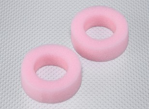 Foam Tire Inserts for 26mm RC Car Wheels - Soft Compound (2pcs)
