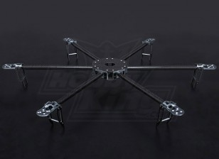 Turnigy Talon Hexcopter (V1.0) Carbon Fiber Frame - 625mm
