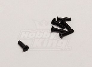 Countersunk Self-Tapping Screw(2*8) - 1/18 4WD RTR On-Road Drift/Short Course(6pcs)