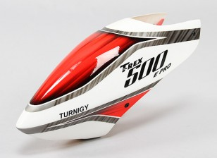 Turnigy High-End Fiberglass Canopy for Trex 500 Pro