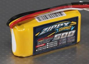 ZIPPY Compact 500mAh 3S 35C Lipo Pack